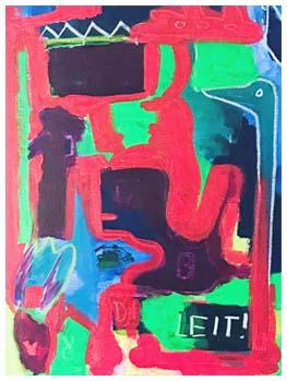 verschiedene Motive Pop Art Fritz Köthe 80er Jahre Kunst-Postkarte 6 - Neu